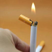 Encendedor En Forma De Cigarro Recargable Practico Calidad