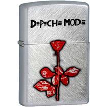 Depeche Mode - Violator Encendedor Cromado Electro New Wave