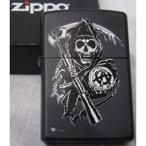 Encendedor Zippo Son Of Anarchy Anarquia Nuevo Original!!