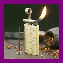 Encendedor Labrado Especial Para Fumar Pipa Puro Tabaco