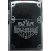 Encendedor Zippo Harley Davidson Carbon Fiber Original!