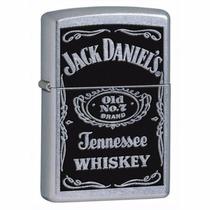 Encendedor Zippo Jack Daniels Original Coleccion Plata