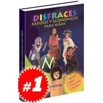 Disfraces Rápidos Y Económicos Para Niños 1 Vol + 1 Dvd