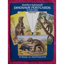 Libro De Postales De Dinosaurios, Impecable, Único