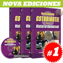 Enciclopedia Estudiantil De La Historia Universal 3 Vols 1cd