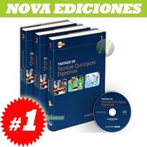 Tratado De Técnicas Quirúrgicas Digestivas 3 Vols + Cd Nueva