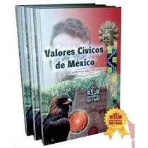Valores Cívicos De México 3 Vols Reymo