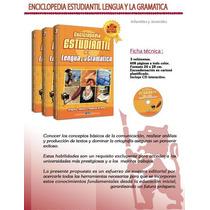 Enciclopedia Estudiantil Lengua Y Gramatica 3tomos + 1 Cd