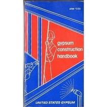 Gypsum Construction Handbook .vintage 70s Construccion .yeso