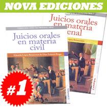 Colección Derecho Procesal Oral 1ª Serie 2 Tomos