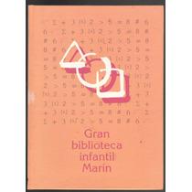 Gran Biblioteca Infantil Marín 4 Tomos Pasta Dura