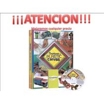 Libro De Creaciones Plastic Canvas 1 Tomo + 1 Dvd