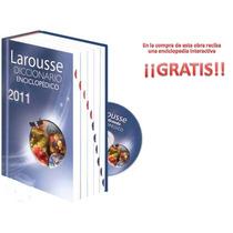 Larousse Diccionario Enciclopédico 2012 1 Vol + 1 Cd Rom