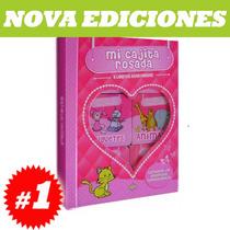 Mi Cajita Rosada 6 Libritos Acartonados. Nuevo Y Original