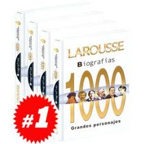 Biografías 1000 Grandes Personajes 4 Vols
