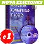 Manual De Contabilidad Y Costos, 1 Vol + 1 Cd-rom Software