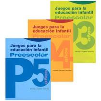 Juegos Para La Educación Infantil Preescolar 3 Vols Parramon