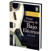 Curso Completo De Bajo Eléctrico 1 Vol + 1 Cd Audio Parramon
