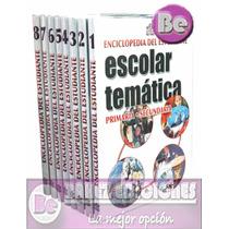 Enciclopedia Escolar Tematica Primaria Y Secundaria 8 Vol+cd