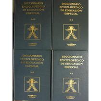 Diccionario Enciclopédico De Educación Especial 4 Tomos 1990