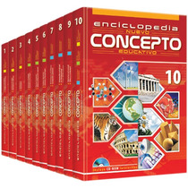 Enciclopedia Nuevo Concepto Educativo 9 Vols + 3 Cd Roms Fn4