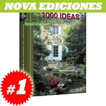 1000 Ideas En Diseño De Jardines 1 Vol Original
