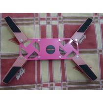 Base Enfriadora Con 2 Ventiladores P/laptop Rosa Plegable