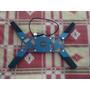 Base Enfriadora Con 2 Ventiladores P/laptop Azul Plegable