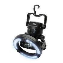 Cyclops Luz Ventilador Portátil Con Integrated Hook Negro
