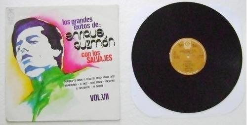 Enrique Guzman Con Los Salvajes 1 Disco Lp Vinil