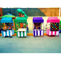Puestos De Feria, Halloween, Posadas, Santa Claus, Reyes !