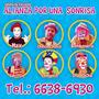 Show Payaso Adultos,infantil,familiar,,pintacaritas
