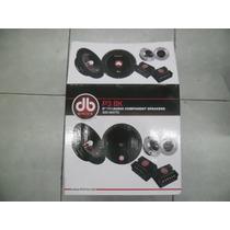 Db Drive Set De Medios Pro 8 3p 8k 300 Whatts Max Potencia
