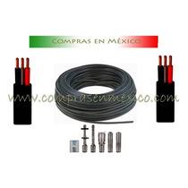 Cable Trifásico Para Bomba. 100 Mts. Calibre 10 Vbf