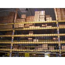 Malla De Nylon Para Rack De Tarimas De 243cm X 243cm 1113 Kg