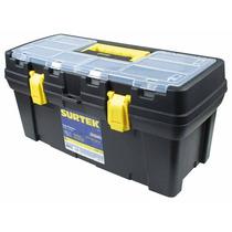 Cajas Plásticas C/broches Metálicos Y Organizador 125071 Vv4