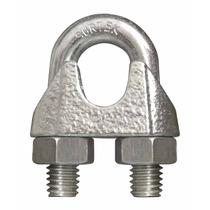 Nudo P/ Cable Perro Hierro Maleable 1/8¨ Tipo Alemán 12 Pzas