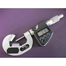 Micrometro Mitutoyo Digital 314-352 Tope V Herramienta Corte