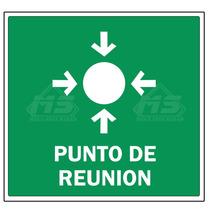 Letrero Señalizacion Proteccion 40x40cm Ruta De Evacuacion