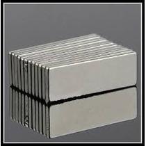 Imanes De Neodimio N50 30mm X 10mm X 2mm