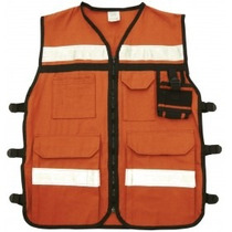 Chaleco Rescatista Uso Rudo (gabardina) Mayoreo Safety Tools