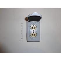 Contacto Duplex Con Tapa Para Intemperie A Prueba De Agua