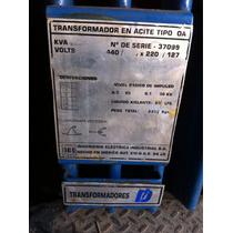 Transformador En Aceite Tipo Ca 30 Kva