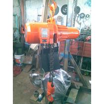 Polipasto Electrico De Cadena Marca Endor Stahl 2.5 Tons