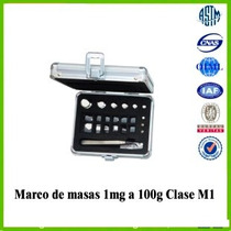 Marco De Masas 1mg A 100g Oilm Clase M1 Acero Inoxidable