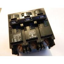 Siemens Interruptor Termomagnetico B3100h 3 Polos 100a 220v