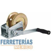 Malacate Manivela Sin Cable 300 Kg Truper 14722
