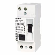 Interruptor Diferencial 25a 30ma 125/230v Siemens Dispositiv
