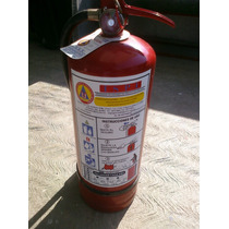 Extintor Extinguidor Nuevo 4.5kg Pqs Calidad Garantizada Op4
