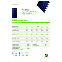Panel Solar Fotovoltaico 305w Astronergy Tier1